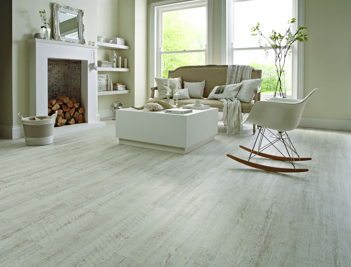 karndean knight tile white painted oak kp105 vinyl flooring. Black Bedroom Furniture Sets. Home Design Ideas