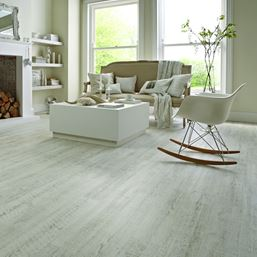 Karndean Knight Tile White Painted Oak KP105 Vinyl Flooring