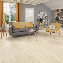 Karndean Knight Tile Washed Scandi Pine KP132 Vinyl Flooring