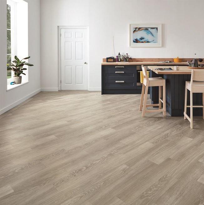 Karndean Knight Tile Grey Limed Oak KP138 Vinyl Flooring