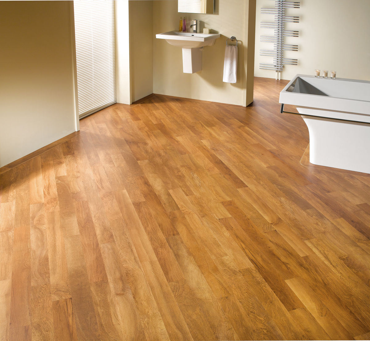 Karndean knight tile aran oak kp67 vinyl flooring for Vinyl flooring over vinyl