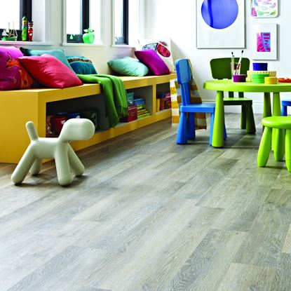 Karndean Knight Tile Lime Washed Oak KP99 Vinyl Flooring