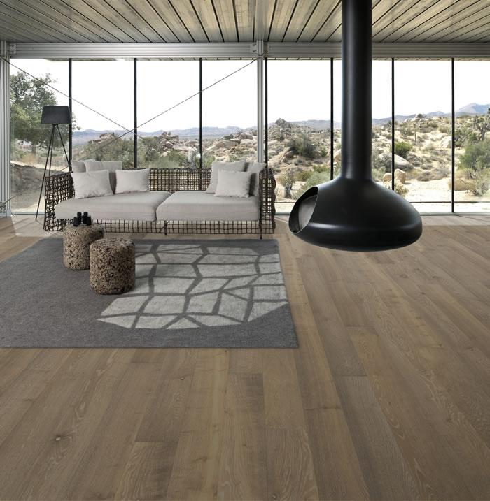 Kahrs Oak Nouveau Greige Engineered Wood Flooring