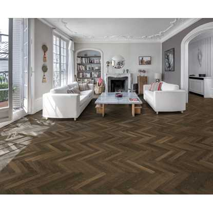 Kahrs Oak Herringbone Smoked AB