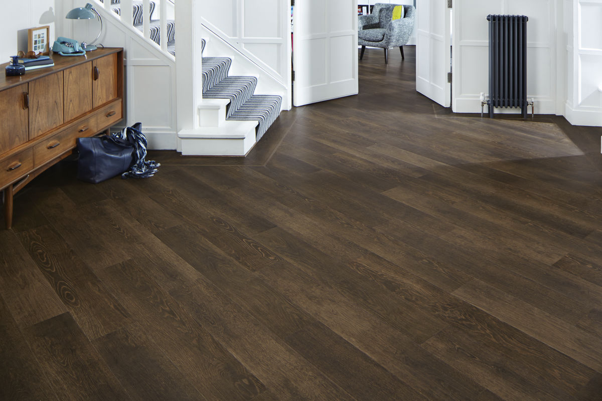 karndean van gogh smoked beech vgw98t vinyl flooring. Black Bedroom Furniture Sets. Home Design Ideas