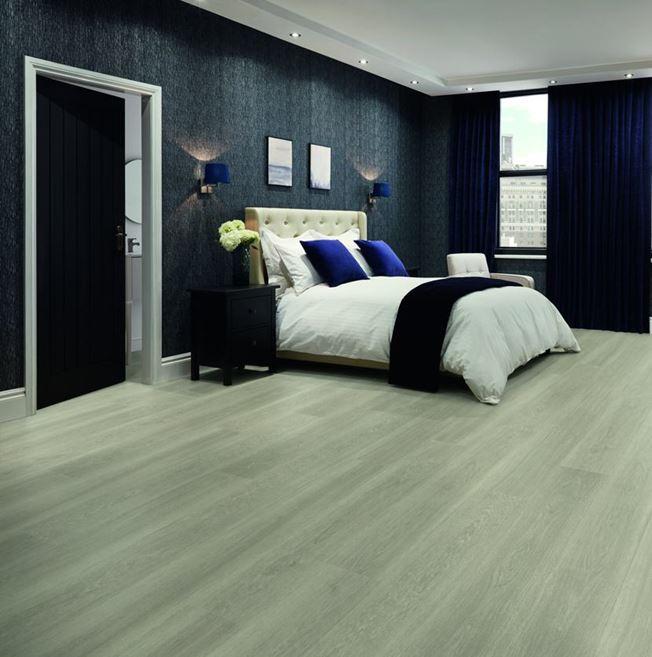 Karndean Van Gogh Grey Brushed Oak Vinyl Flooring
