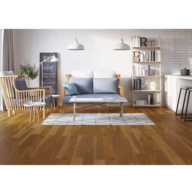 Barlinek Oak Chestnut Grande Engineered Wood Flooring