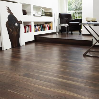 Kronospan Vario Plus Dark Walnut Laminate Flooring