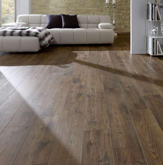 Kronospan Vintage Bakerfield Chestnut Laminate Flooring