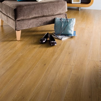 Laminate flooring with free underlay for Kronospan laminate flooring