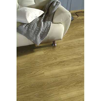 Kronospan Vario Plus 12mm Light Varnished Oak Laminate Flooring