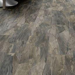 Kronospan Stone Impression Pewter Slate Laminate Flooring