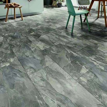 Kronospan Stone Impression Silverado Slate Laminate Flooring
