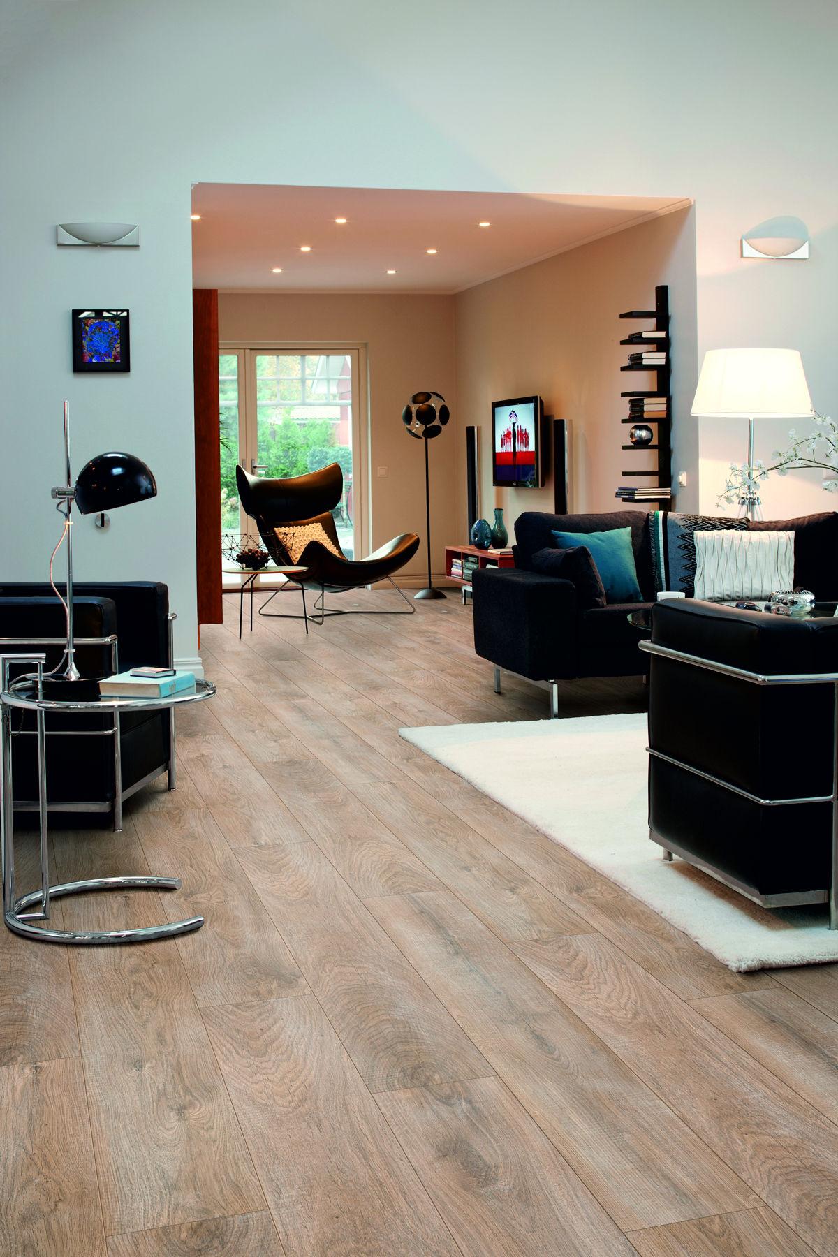 Pergo Laminate Flooring step 17 Pergo Living Expression Chalked Blonde Oak Laminate Flooring