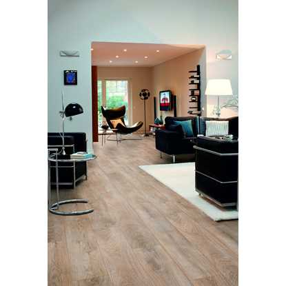 Pergo Living Expression Chalked Blonde Oak Laminate Flooring