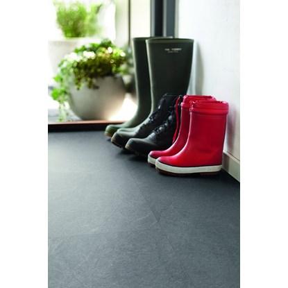 Pergo Living Expression Light Grey Slate Laminate Flooring