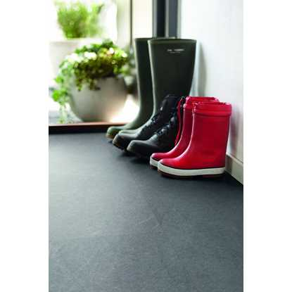 Pergo Living Expression Light Grey Slate Laminate Flooring
