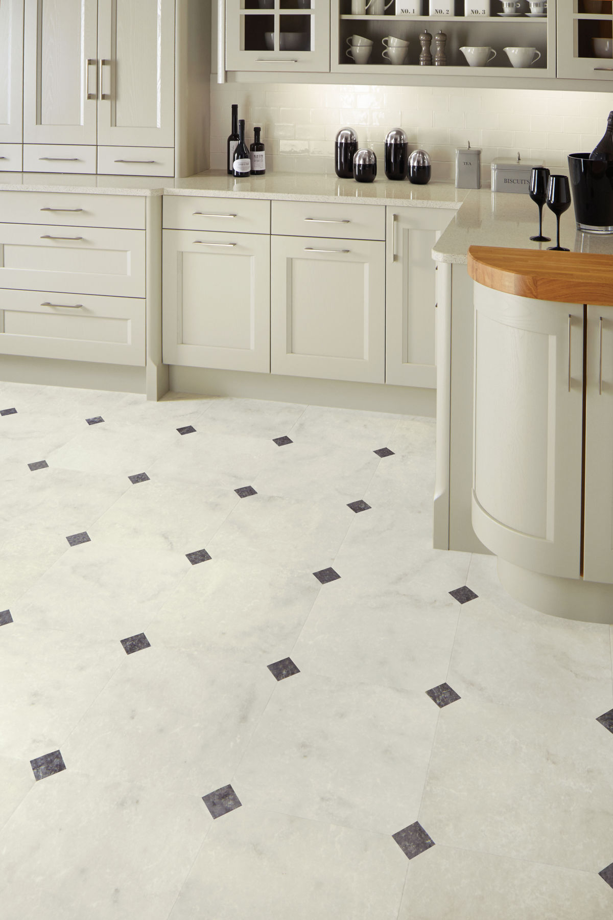 Karndean Kitchen Flooring Art Select Fiore Clipstone Lm16 Clip Vinyl Flooring