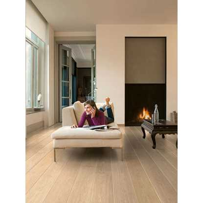 Quickstep Largo White Varnished Oak LPU1283 Laminate Flooring
