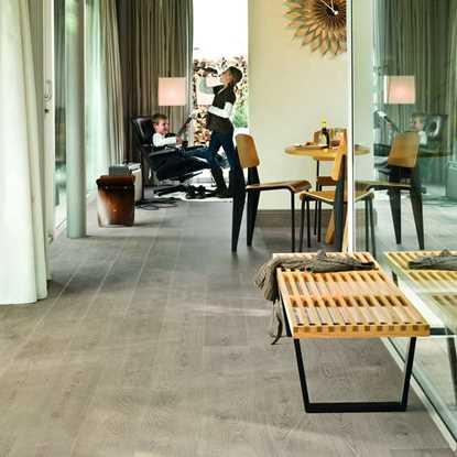 Quickstep Largo White Vintage Oak Planks LPU3985 Laminate Flooring