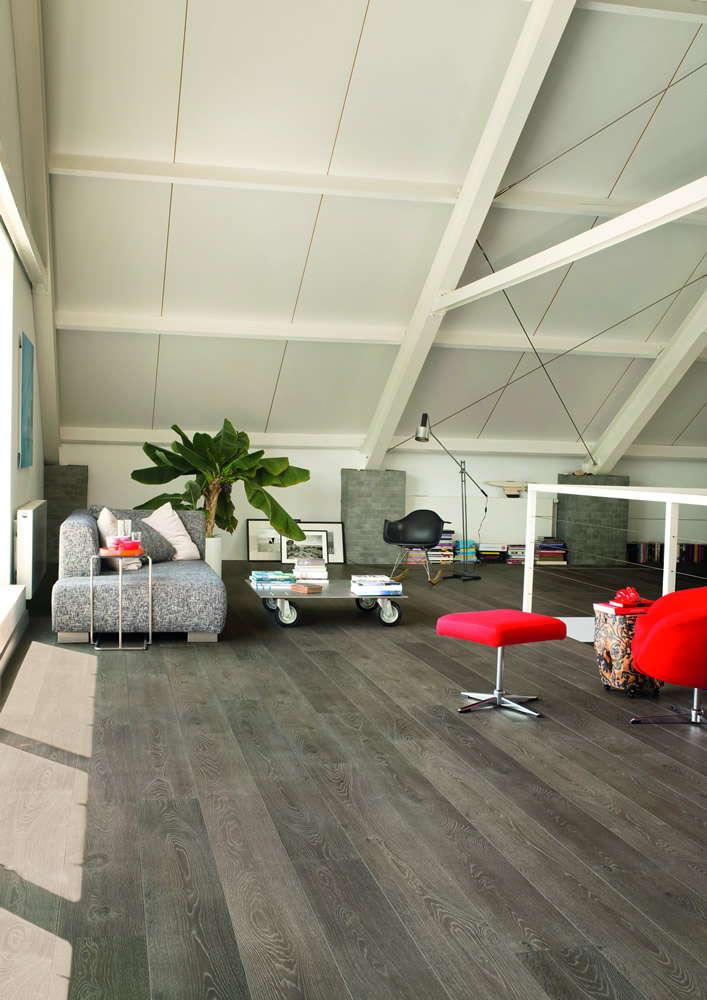 Quickstep largo grey vintage oak lpu1286 laminate flooring for Quickstep flooring uk
