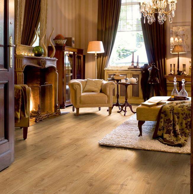 Quickstep Largo Cambridge Oak Natural LPU1662 Laminate Flooring