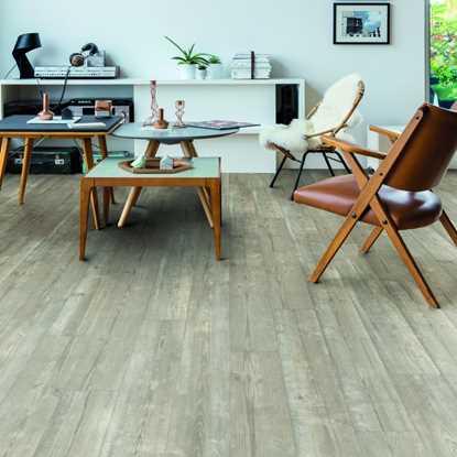 Quickstep Livyn Pulse Morning Mist Pine Vinyl Flooring