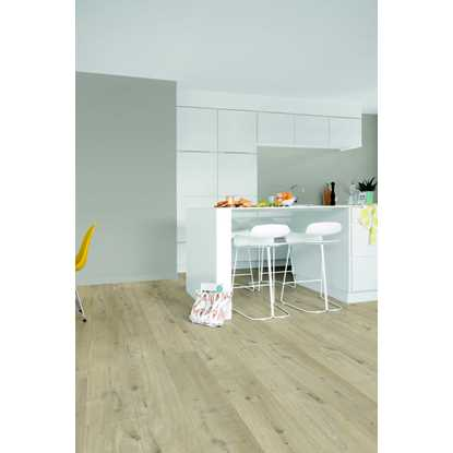 Quickstep Livyn Pulse Cotton Oak Beige Vinyl Flooring