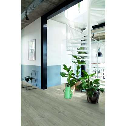 Quickstep Livyn Pulse Cotton Oak Warm Grey Vinyl Flooring