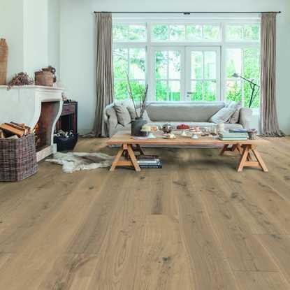 Quickstep Massimo Cappuccino Blonde Oak Extra Matt MAS3566S Engineered Wood Flooring
