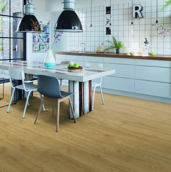 Quickstep Majestic Woodland Oak Natural, Woodland Oak Laminate Flooring