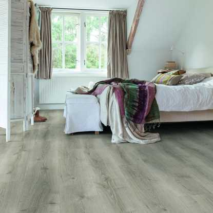 Quickstep Majestic Desert Oak Brushed Grey MJ3552 Laminate Flooring