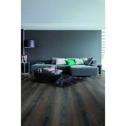 Quickstep Majestic Desert Oak Brushed Dark Brown MJ3553 Laminate Flooring
