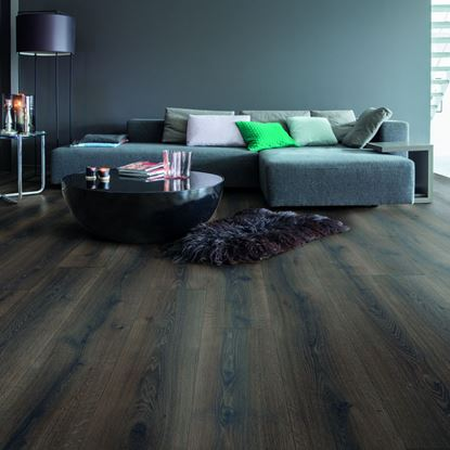 Quickstep Majestic Desert Oak Brushed Dark Brown MJ3553 Laminate Flooring