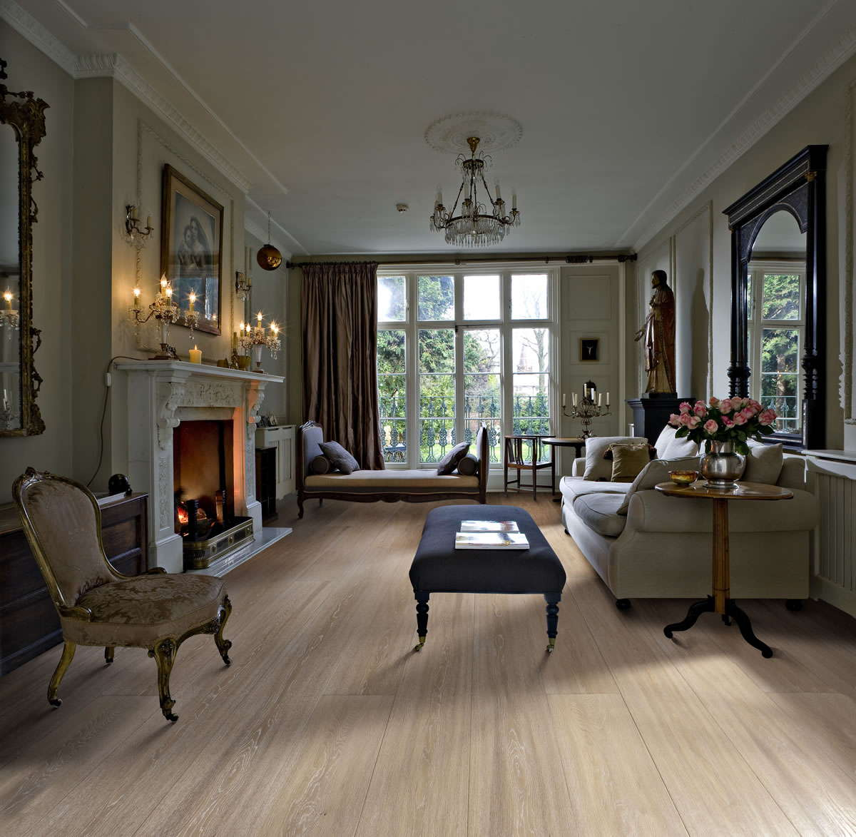 Kahrs Oak Manor Engineered Wood Flooring - Oak Manor Engineered Wood Flooring