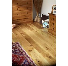 Natura 125mm Oak Matt Lacquered Solid Wood Flooring