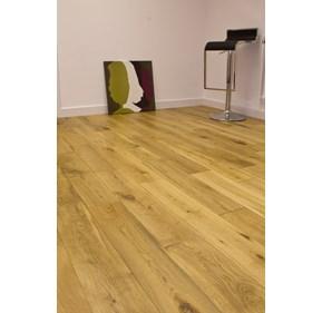 Natura 150mm Oak Matt Lacquered Solid Wood Flooring