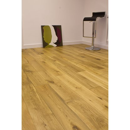 Natura 150mm European Solid Oak Matt Lacquered Wood Flooring