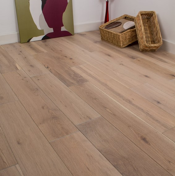Natura 150mm european solid oak white washed wood flooring for Solid wood flooring offers