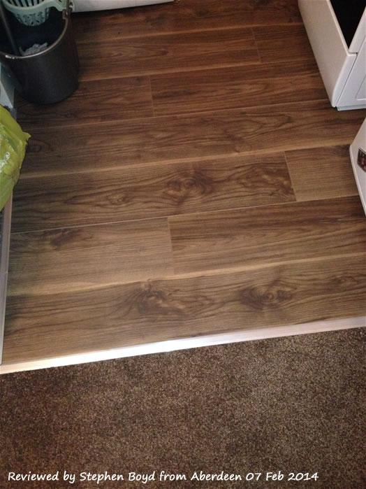 Kronospan Vario 8mm Virginia Walnut Laminate Flooring