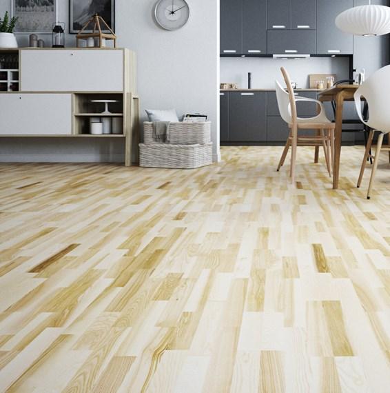 Natura ash langford engineered wood flooring for Ash hardwood flooring