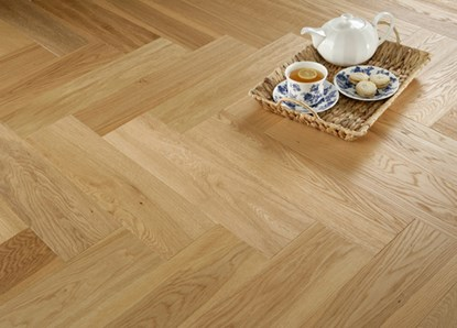 Natura Oak Herringbone Engineered Parquet