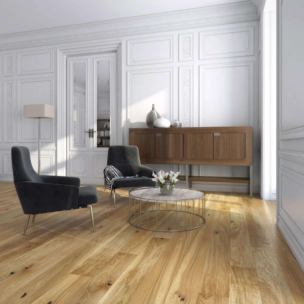 Engineered wood flooring uk sale - Natura Oak Belfast Engineered Wood Flooring