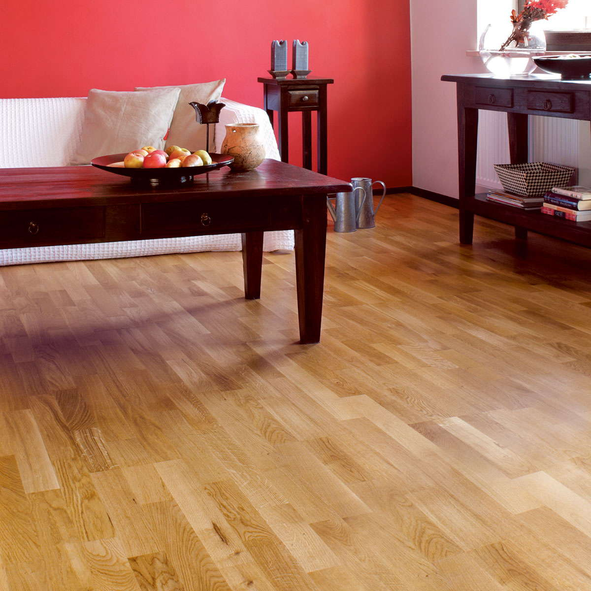 Natura oak brooklyn engineered wood flooring for Real wood flooring