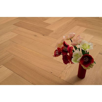 Natura Oak Oiled Herringbone Engineered Parquet