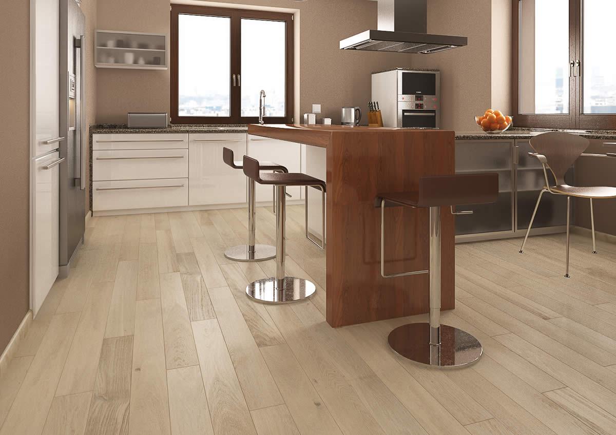 Engineered wood flooring uk sale - Natura Oak Santa Barbara Engineered Wood Flooring