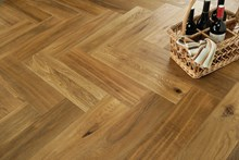 Natura Oak Smoked Herringbone Engineered Parquet