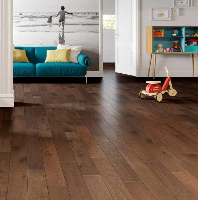 Natura Oak Ironbark Greenwood Engineered Wood Flooring