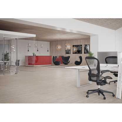 Junckers 14mm Nordic White Plus Harmony Solid Wood Flooring