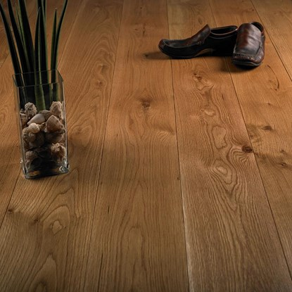 European Solid Oak 150mm Brushed and Oiled